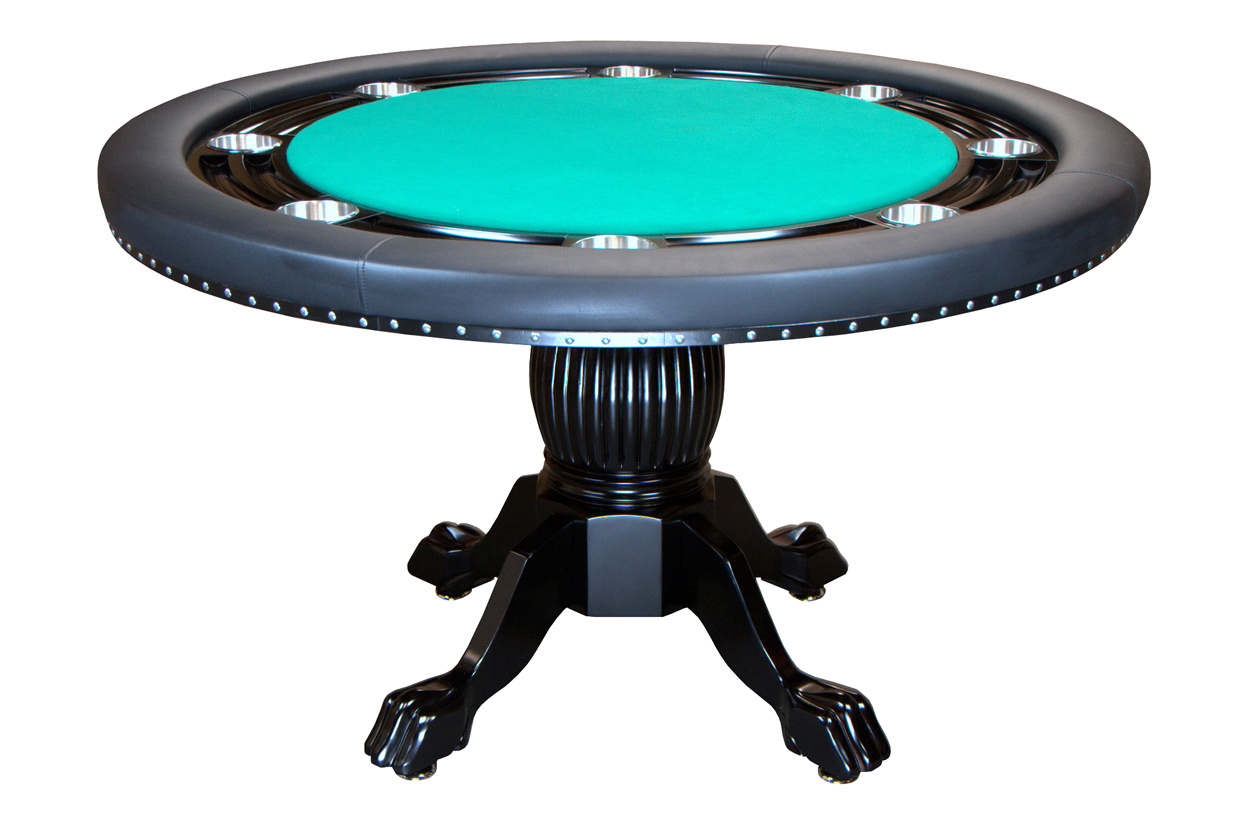 Nighthawk Round Poker Table