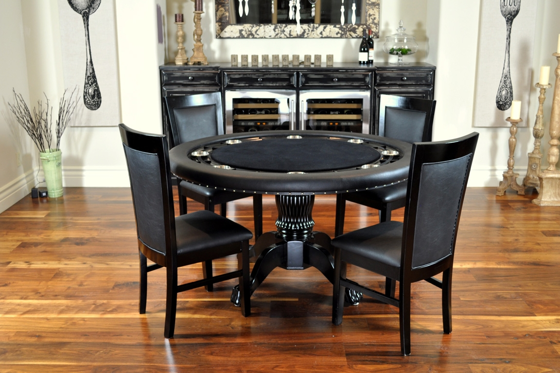 Matching chairs welcome to poker tables canada