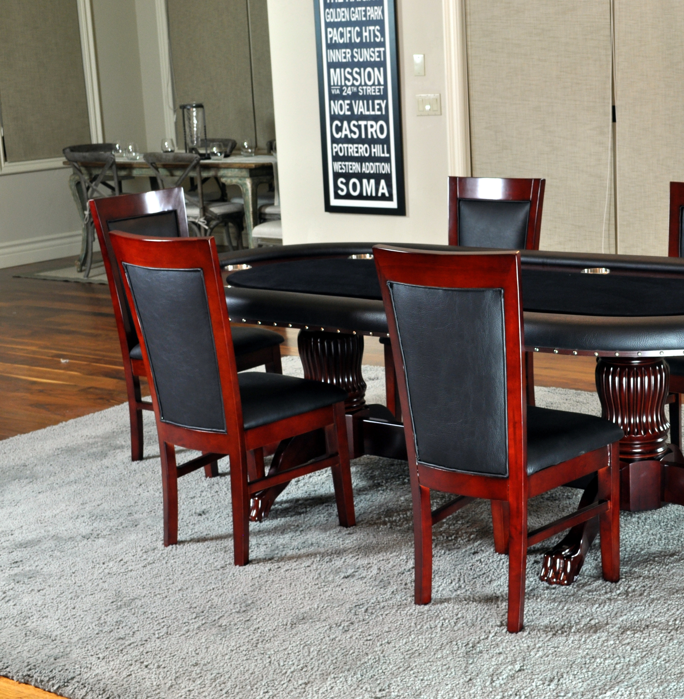 Matching Chairs Set of 2 – Wel e to Poker Tables Canada